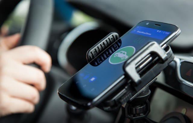 Researchers hope to make cars energy efficient by measuring road conditions through your smartphone. Image credit - CROWD4ROADS