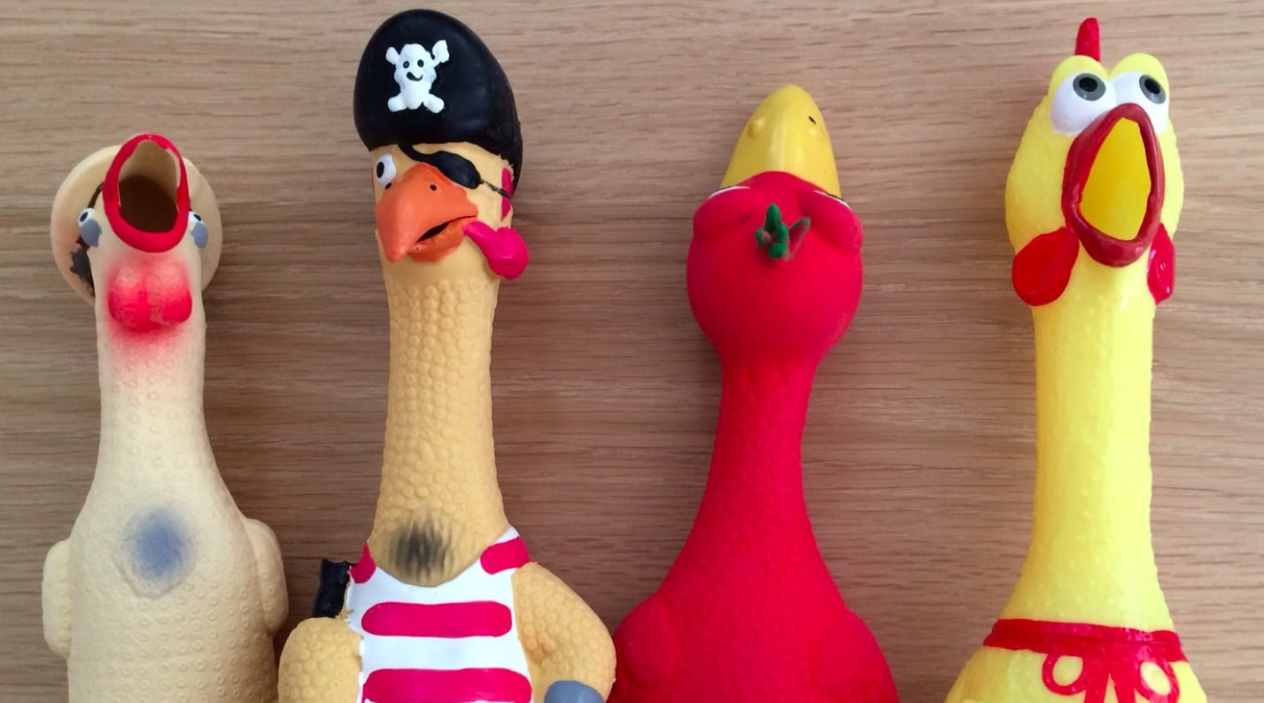 Rubber chickens = better meetings. Who knew?!