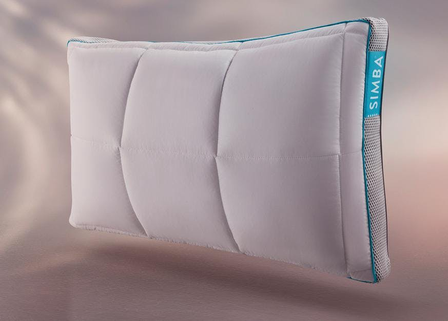 The [Simba Pillow](https://simbasleep.com/products/simba-hybrid-pillow)
