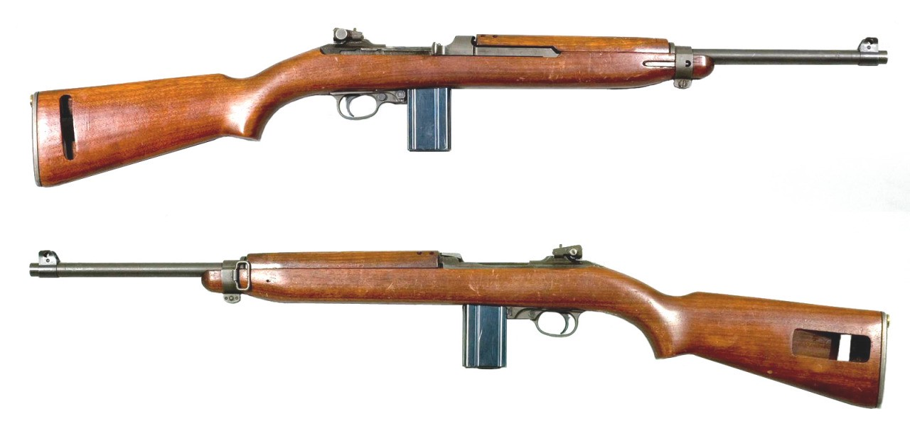 wow there was a suppressed version of the m1 carbine