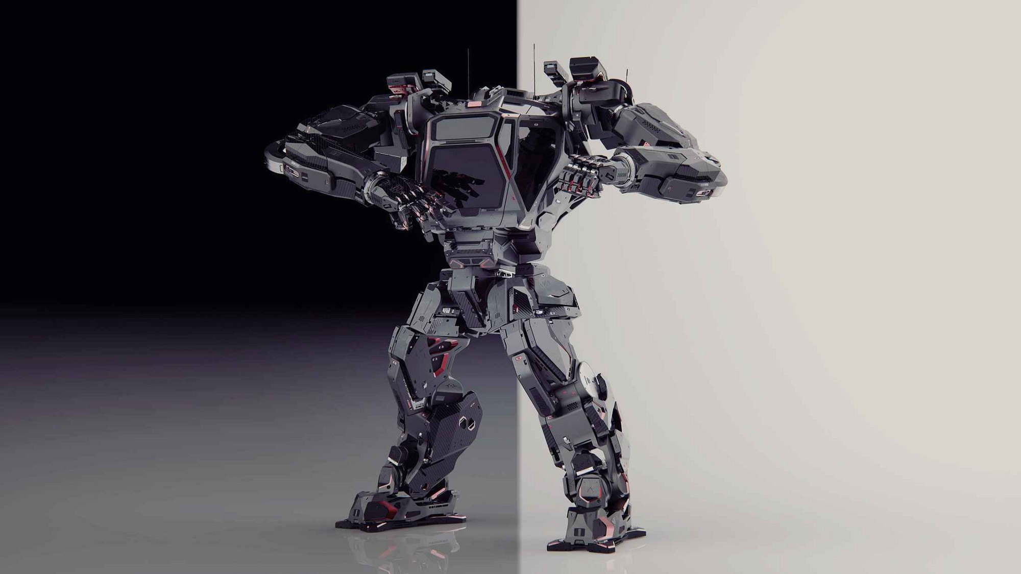 The First Cyber Trooper Giant Manned Robot Method 2 Walks Like A Human