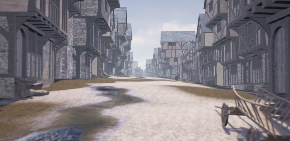 The lost townscape of sixteenth-century Edinburgh has been brought back to life