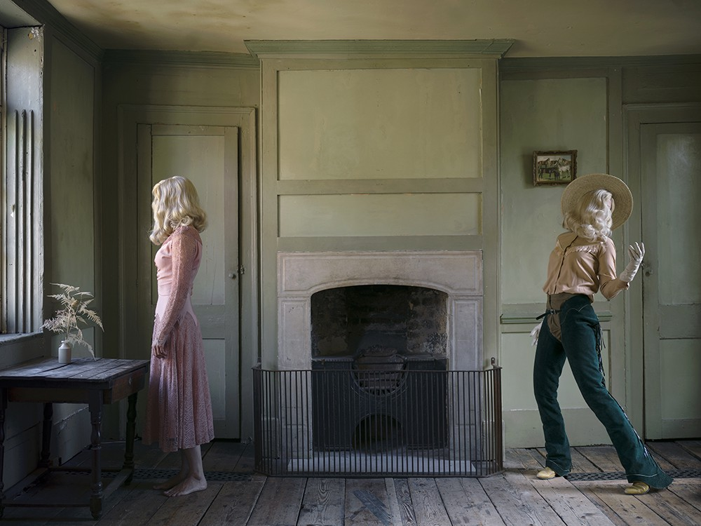 """She Could Have Been a Cowboy, 2016. Chromogenic print, 44"""" x 59."""" © Anja Niemi / courtesy The Little Black Gallery / Steven Kasher Gallery"""