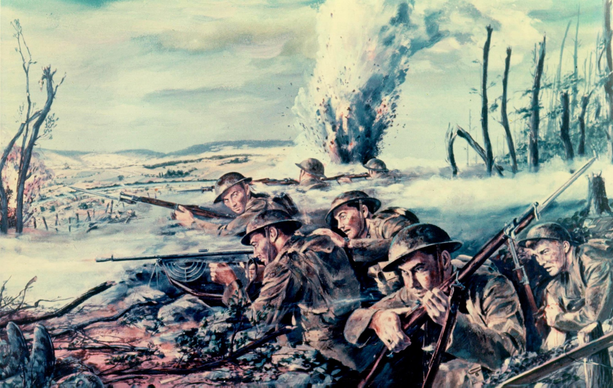 a look at the justification of the united states role in the first world war World war i began 100 years ago this month, and in many ways, writes historian margaret macmillan, it remains the defining conflict of the modern era.