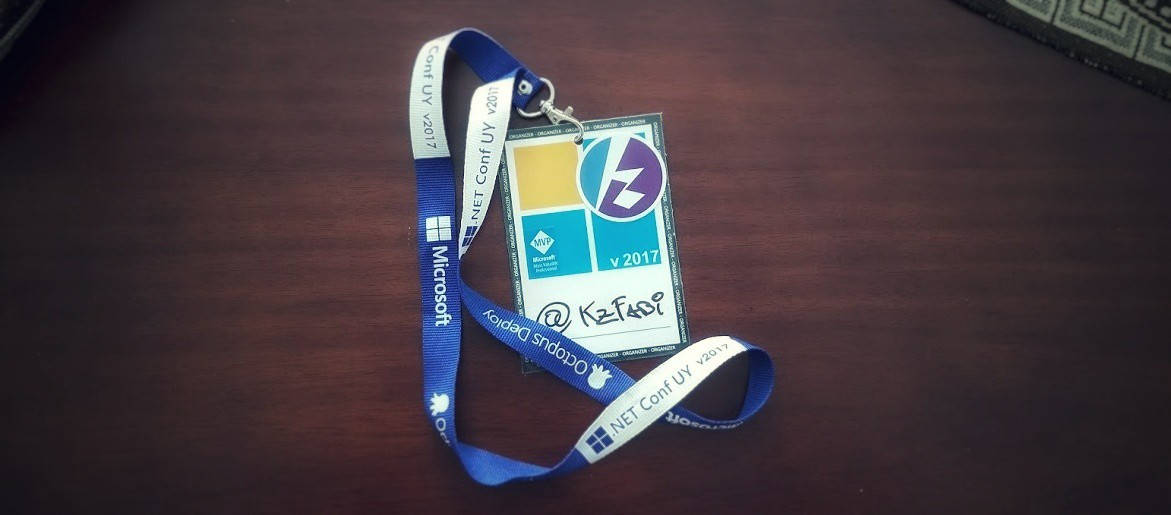 Lanyard from .NET Conf UY v2017