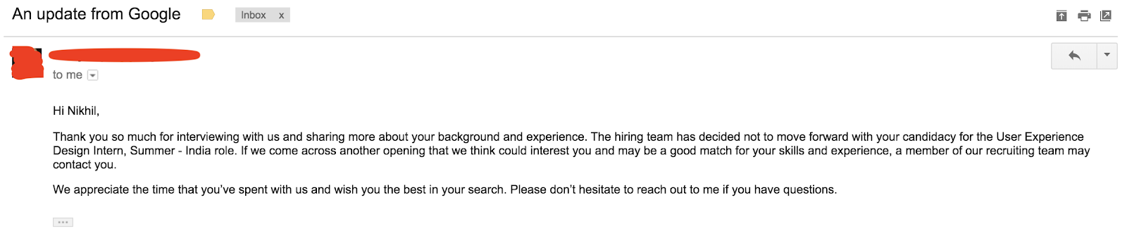 What I Learned From My Google Ux Internship Interview Process