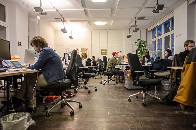 Many start-ups suffer because investors are too risk-averse. Image credit_Flickr/Berlin Startup Tours
