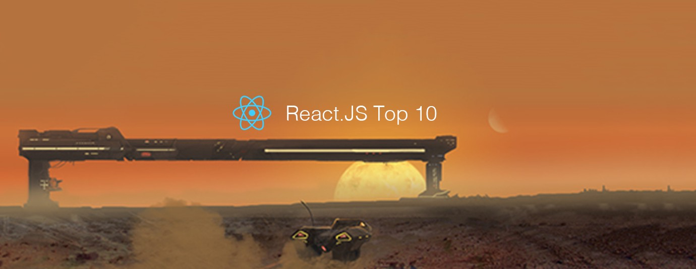 React.js Top 10 Articles for the Past Month (v.Aug 2018)