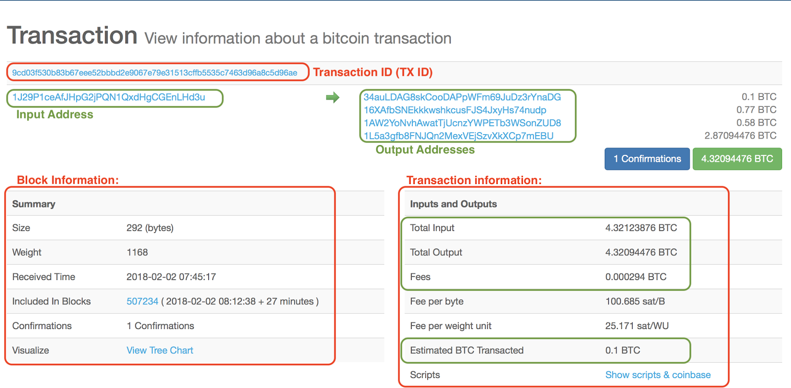 Transaction Hash ID (TXID) - What is it & how to find the transaction ID