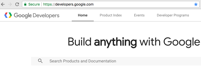 Great example of searchability — Google Developers