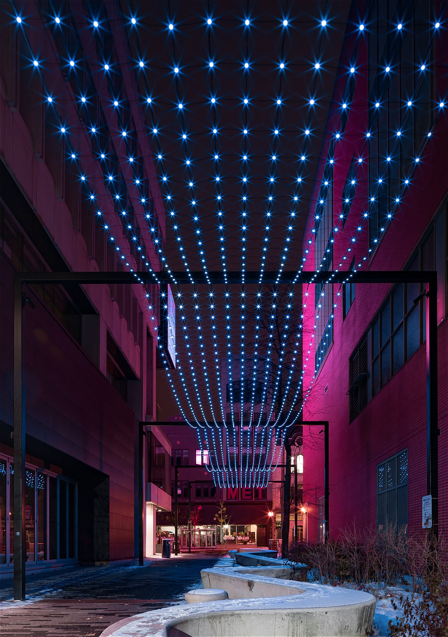 Market Lane in Downtown London at night by Scott Webb Photography 2017