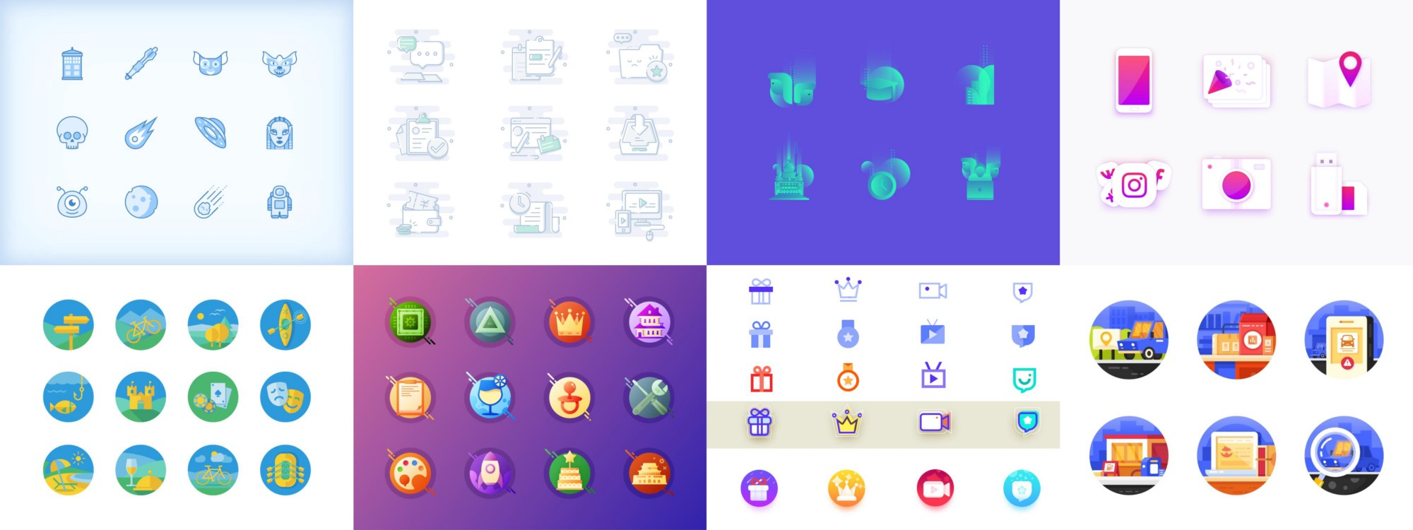 Heres Our Third Article On Blog Series Icon Design Inspiration We Must Say It Was One Of The Toughest Time When Designers Were Confuse About