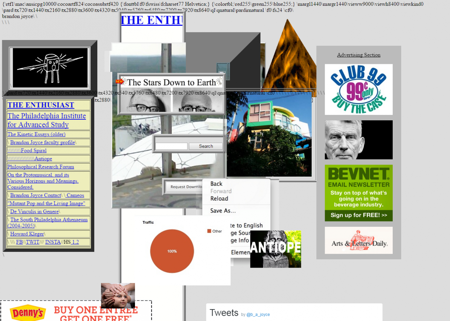 Web design: a selection of sites