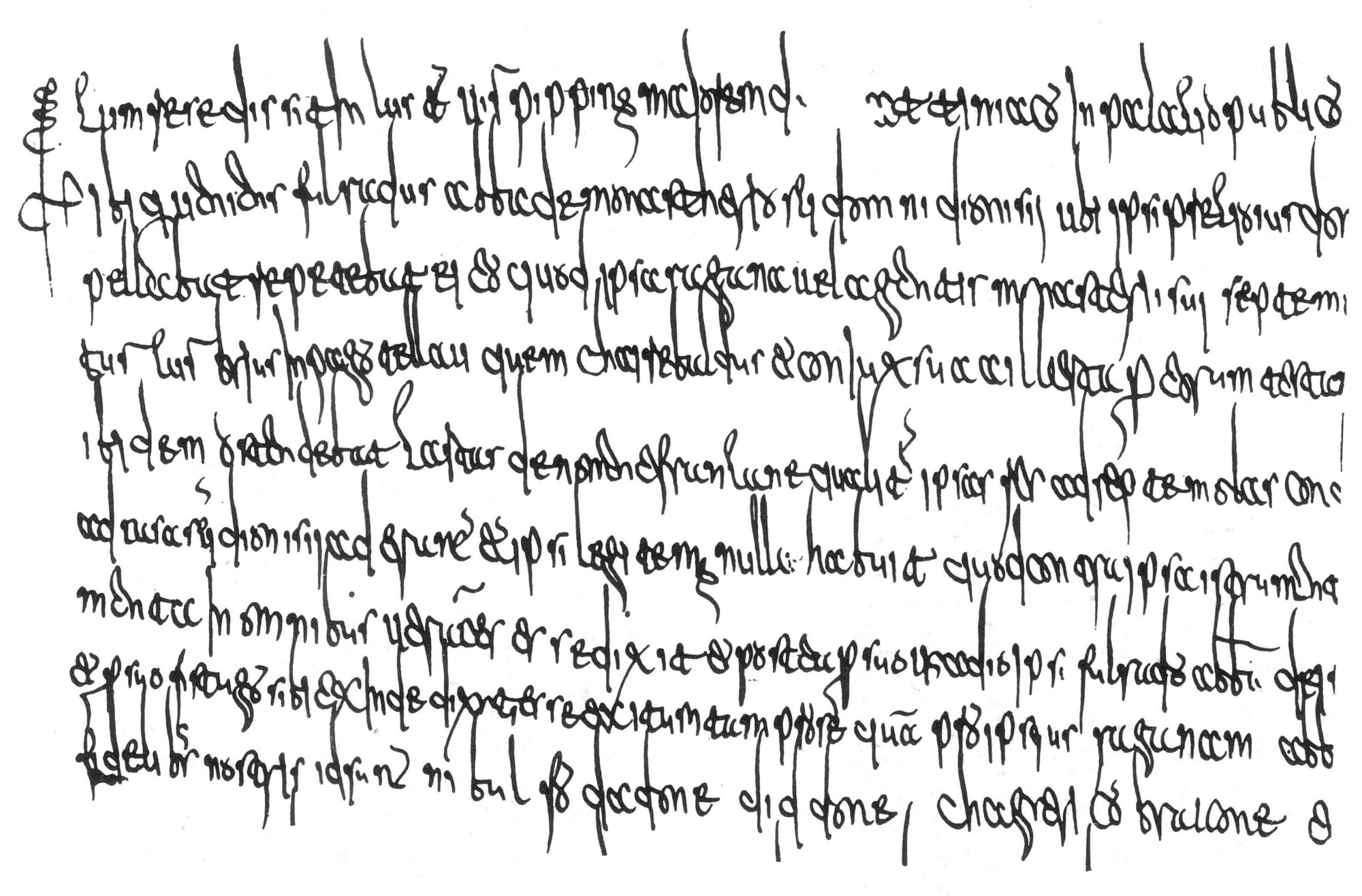 Merovingian writing