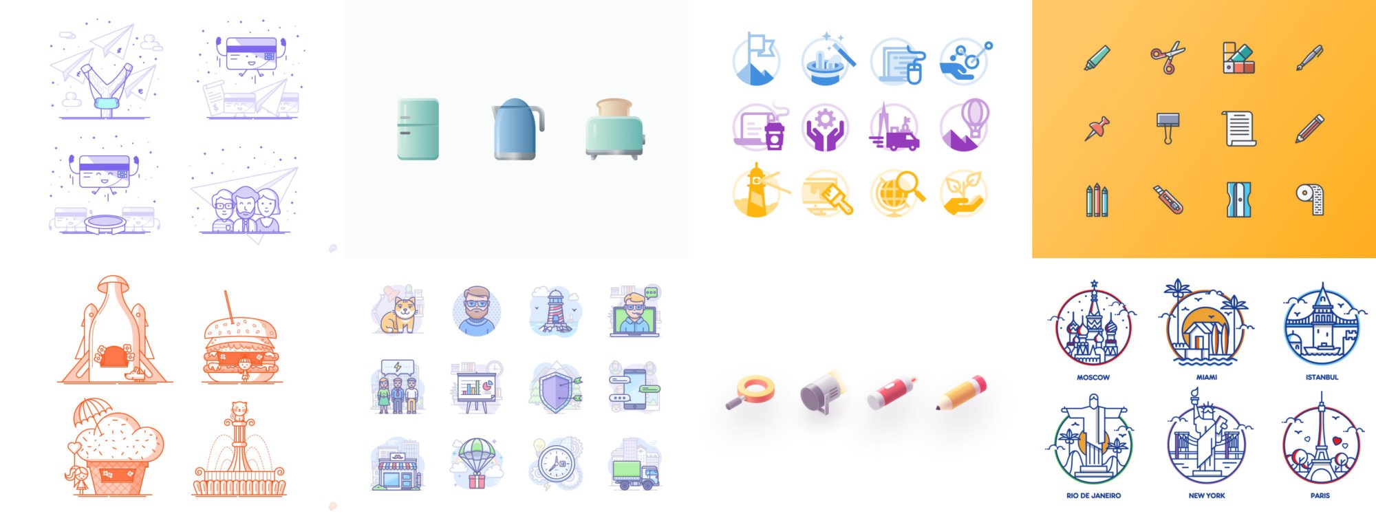 Heres The Second Article On Our Blog Series Icon Design Inspiration Easter Is Coming Soon So Lets Start With Fabulous Icons By Anna Sereda