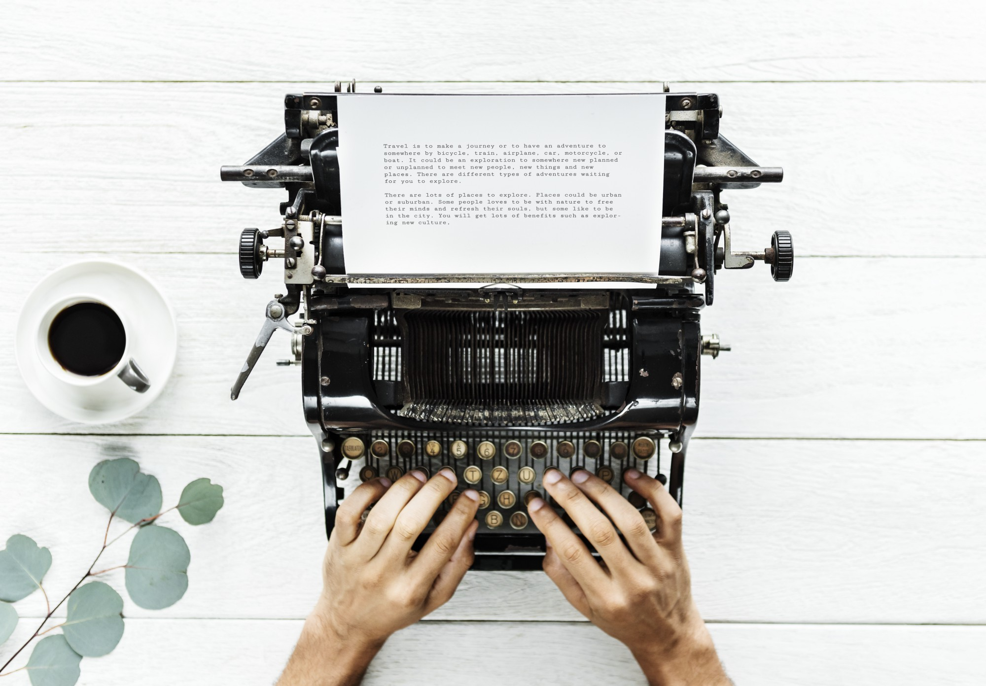The Difference Between Good and Bad Writers