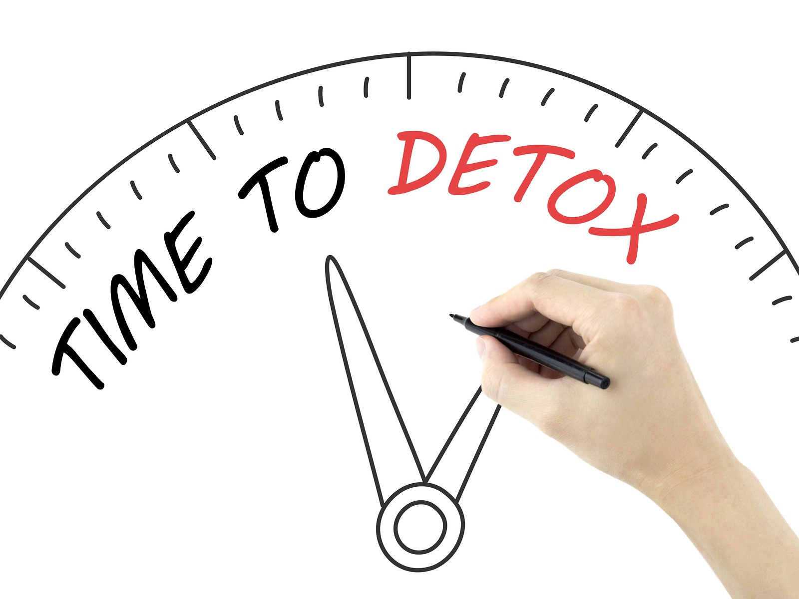 detox your life by clearing out