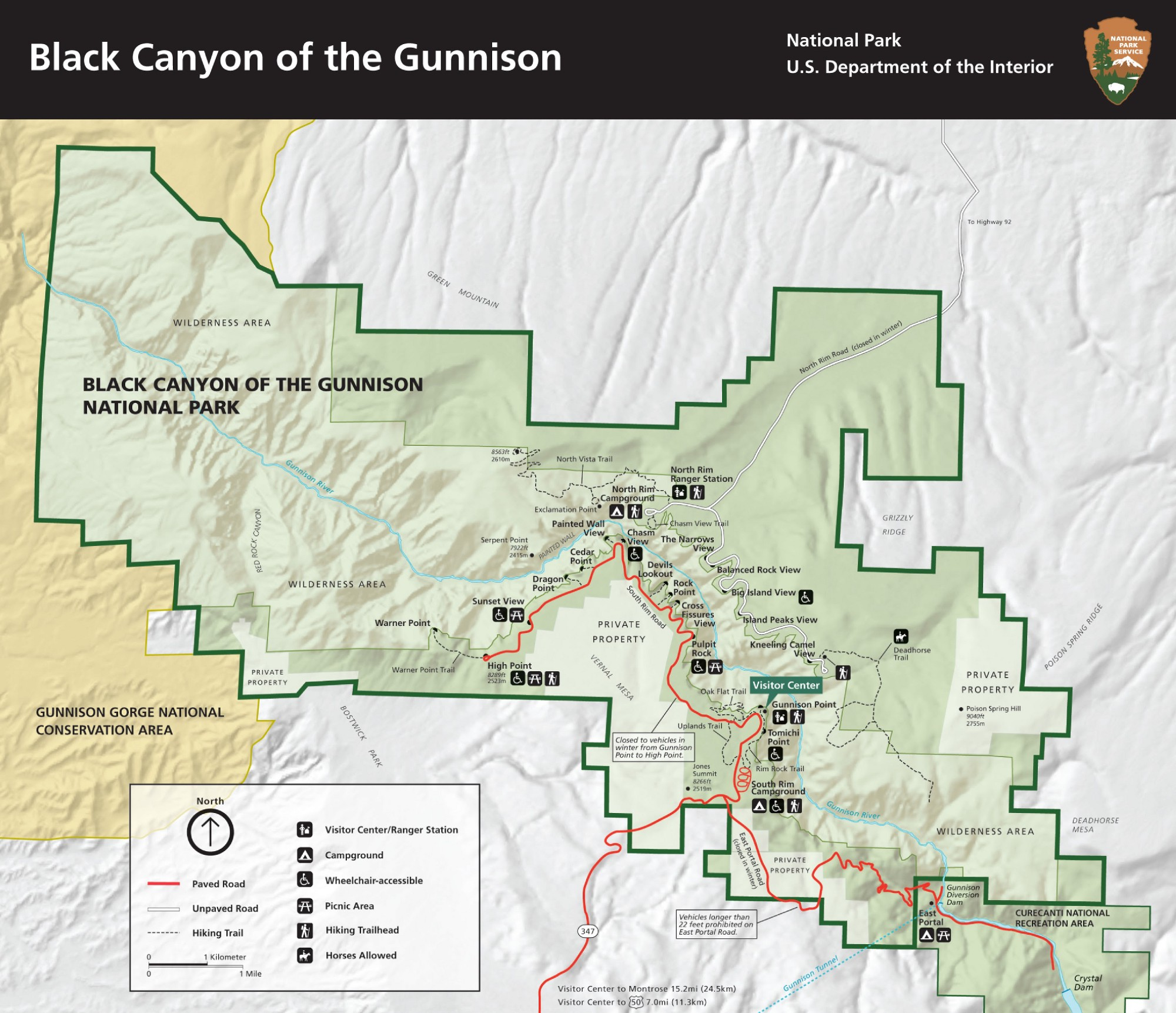 Black Canyon of the Gunnison National Park journal Geographica