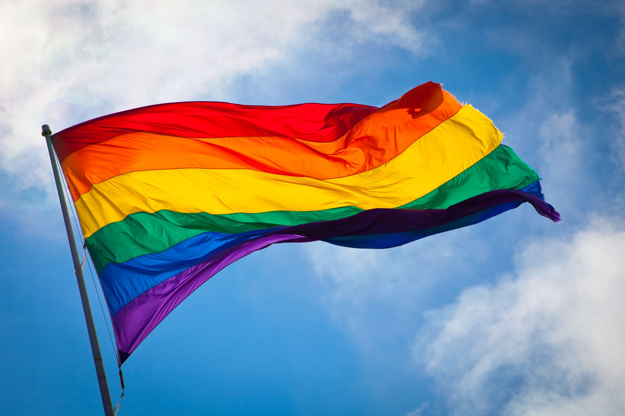 Remembering Gilbert Baker designer of the Rainbow Flag