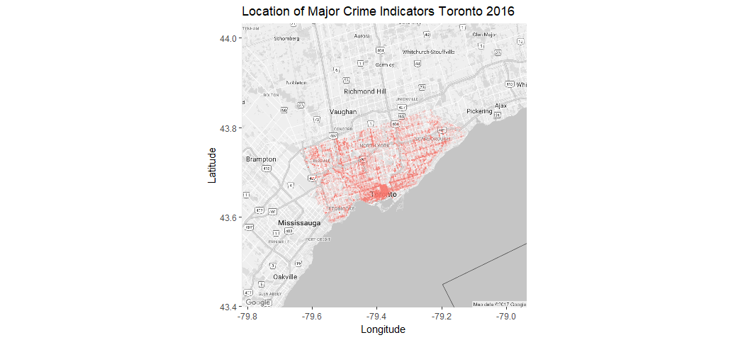 Exploring Clustering and Mapping Torontos Crimes Towards Data