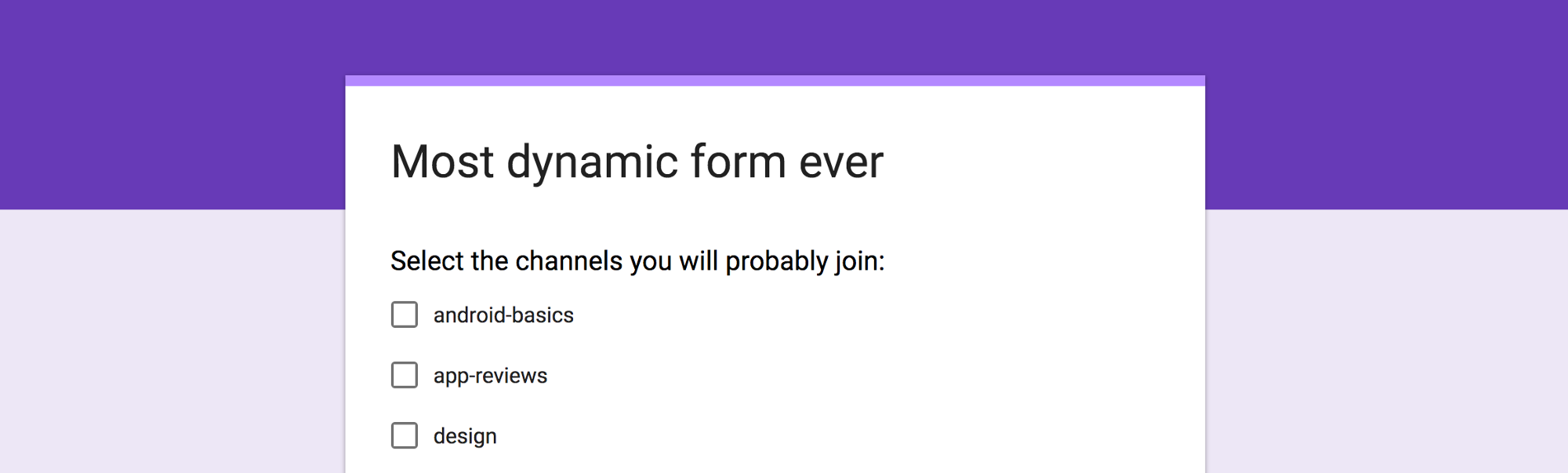 Google Forms Dynamic answers in Questions PavlosPetros Tournaris