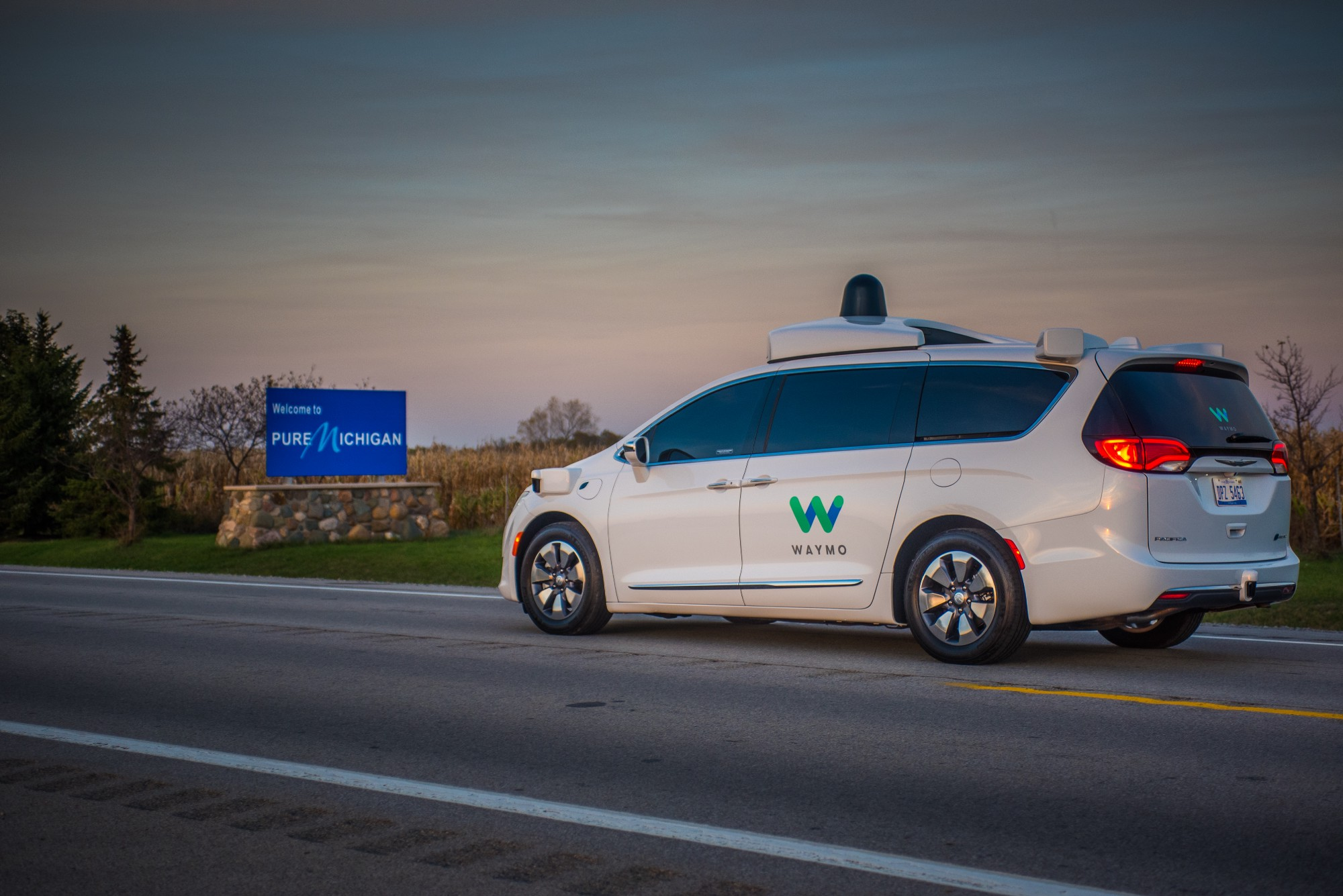 Waymo in Michigan.