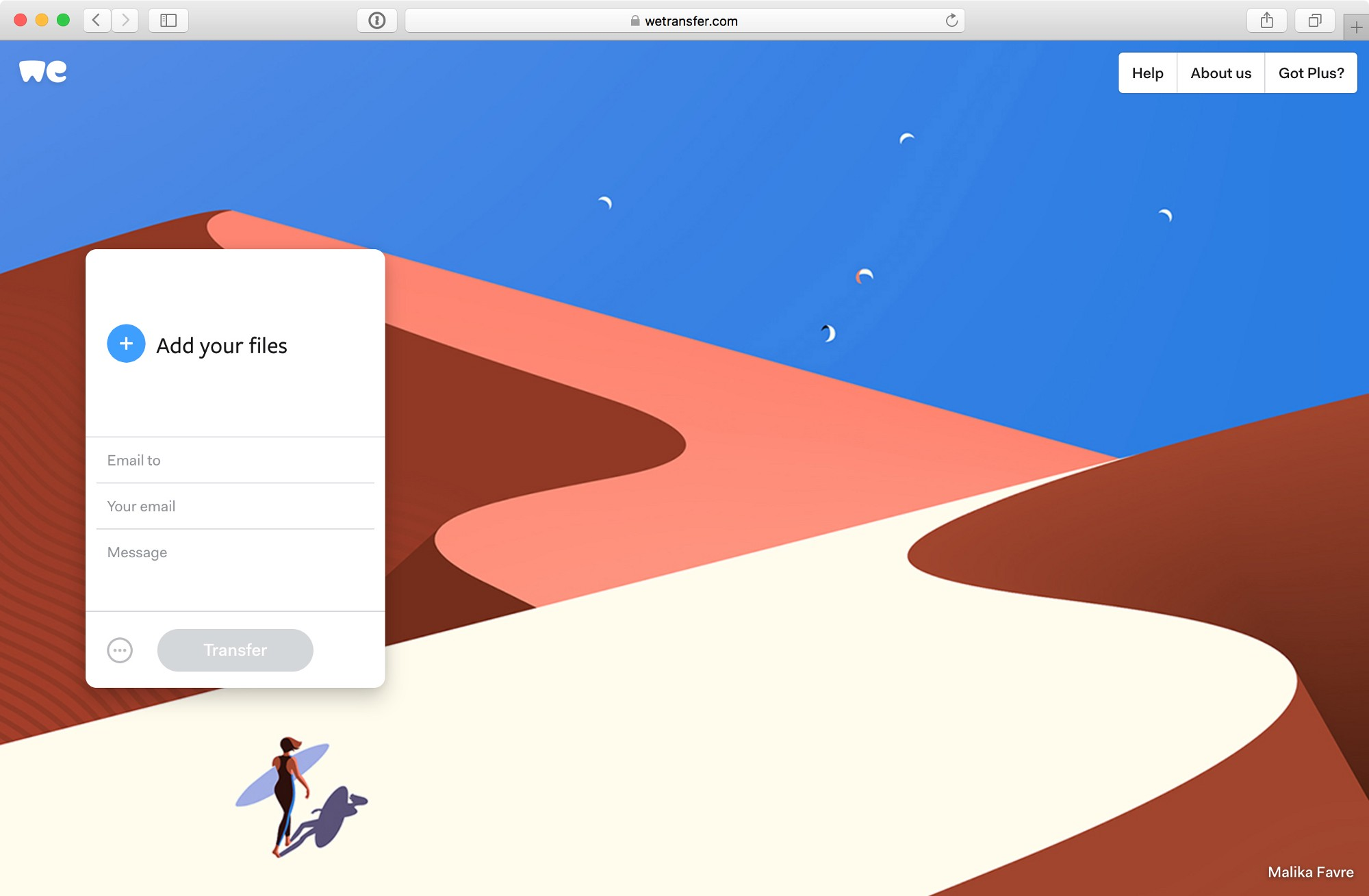 WeTransfer: My Favorite Improvements Of The New WeTransfer.com