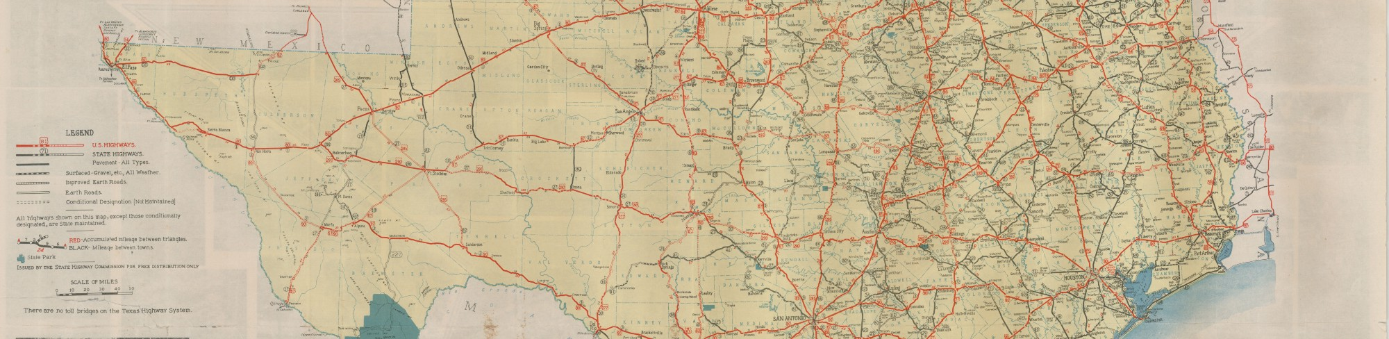 Official Map Of The Highway System Of Texas Save Texas - Texas road map