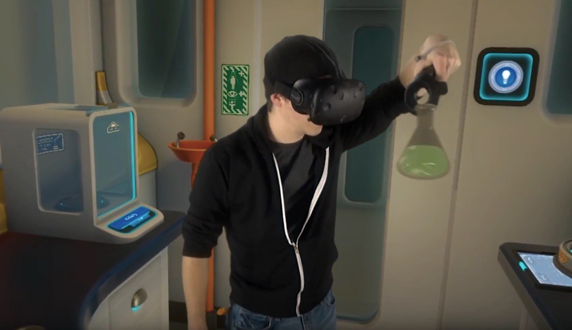 augmented and virtual reality in education - science