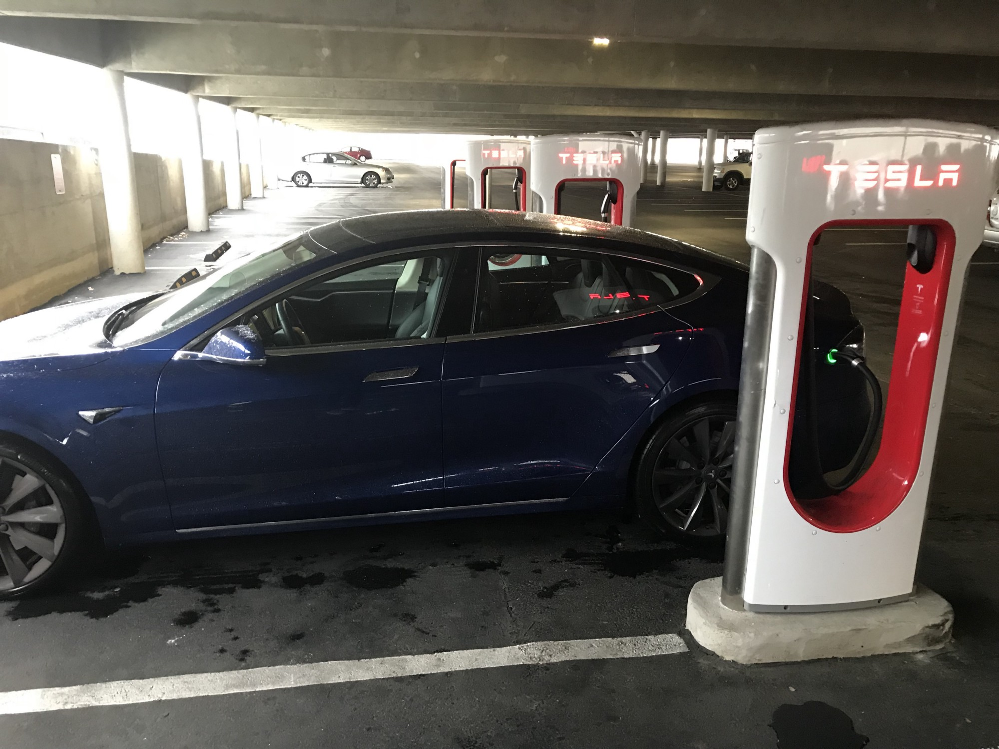 How Prepared Is The Charging Network For Growth In Electric Wiring Garage Tesla My Car Recharging At A High Speed Facility Maryland
