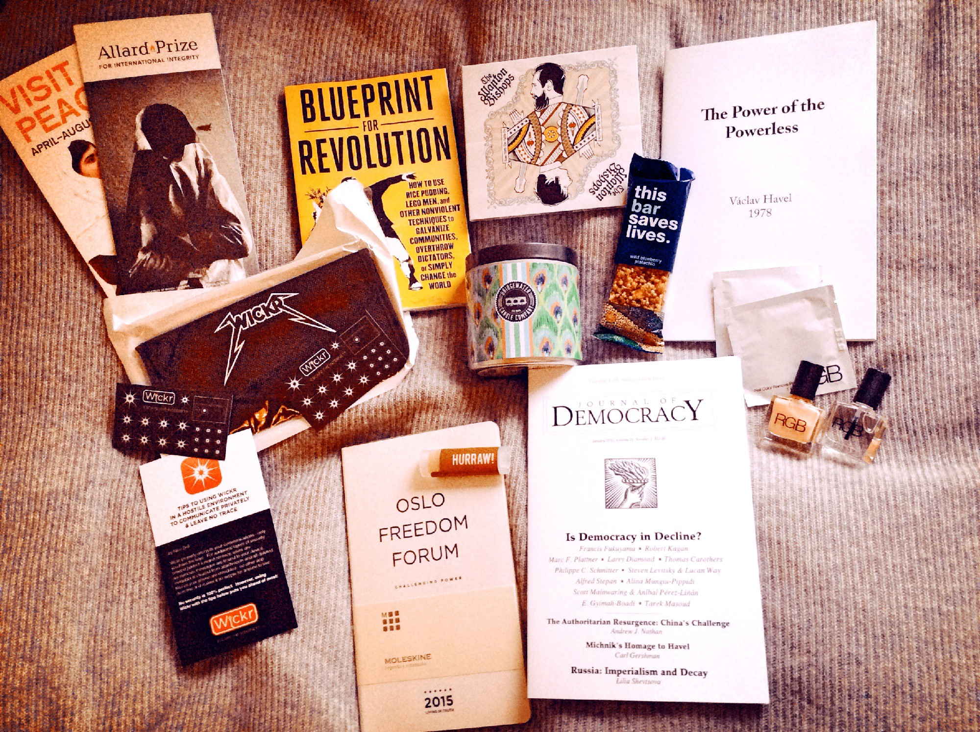 May 2324 kyiv to riga to oslo rebecca posey medium a faraday cage and camera stickers from wickr bridgewater candle and srdja popovics fantastic new book blueprint for revolution malvernweather Choice Image