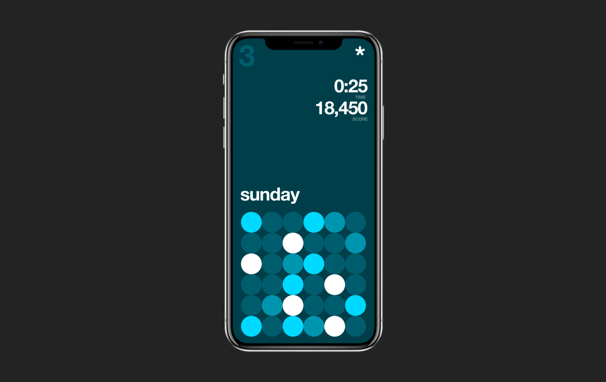 Iphone x user interface game design new ux pattern pro rounded corners full screen cropped for Home design game apps for iphone