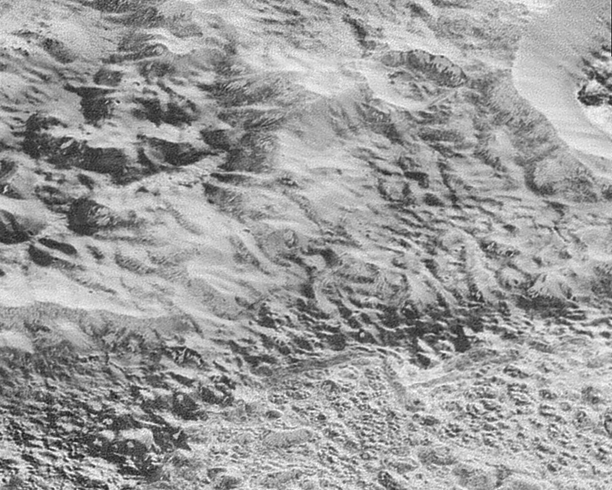 Highest Resolution Images Of Pluto Reveal The Frozen Universe
