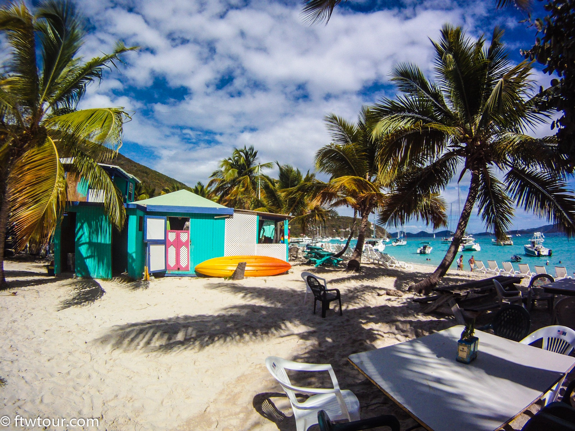 The Soggy Dollar Bar On Jost Van In British Virgin Islands Is Home To Original Pain Drink Which Was Perfected 1970 S