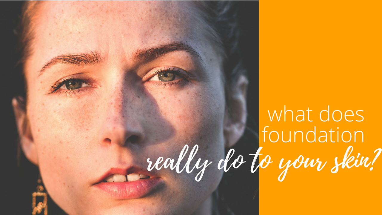 What Does Foundation Really Do To Your Skin Octoly Magazine - Is-makeup-bad-for-your-skin