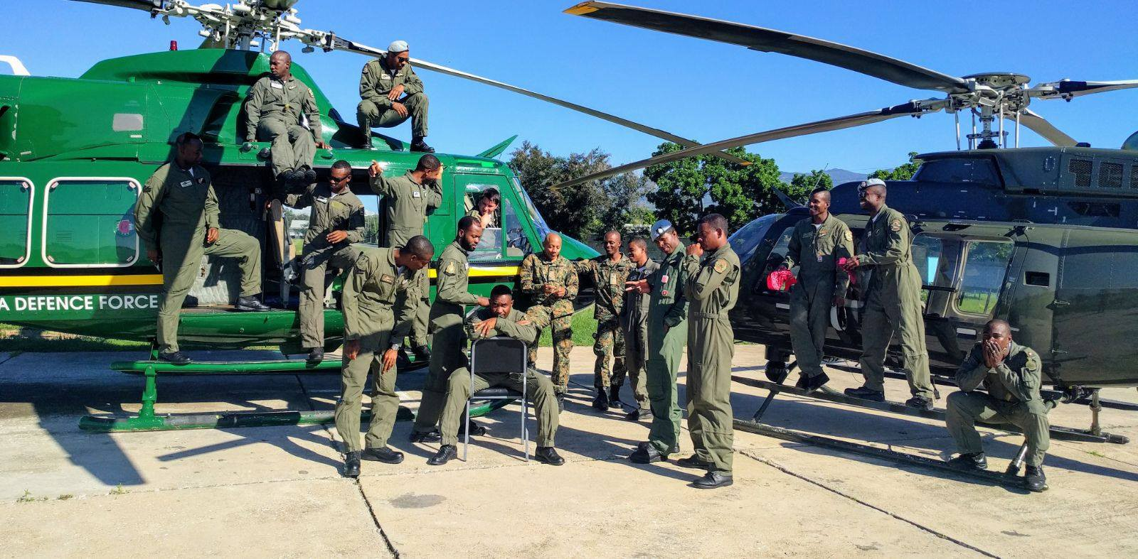 Serving In The Jamaican Air Force Sounds Like A Rough Job