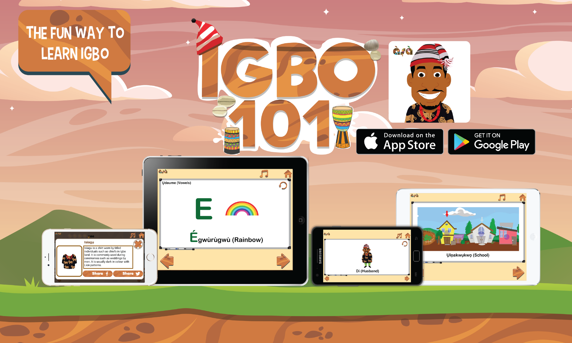 New years greeting with igbo101 v20 the igbo language learning new years greeting with igbo101 v20 the igbo language learning app for kids kristyandbryce Gallery