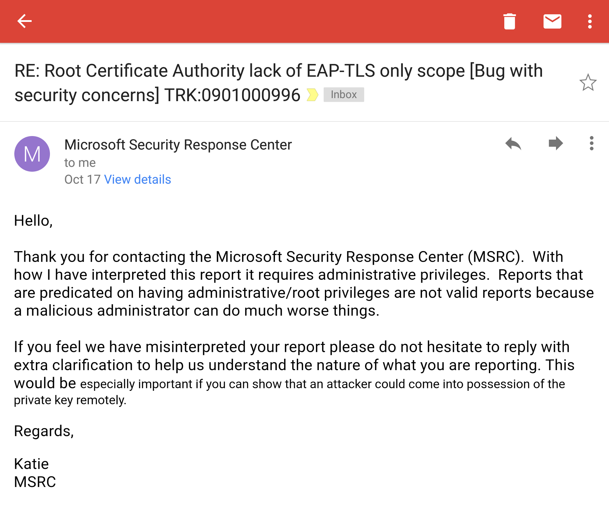 Root certificate authority role separation on windows and beyond although it could cause security problems it seems to have been completely ignored as you can read in the katies reply 1betcityfo Gallery