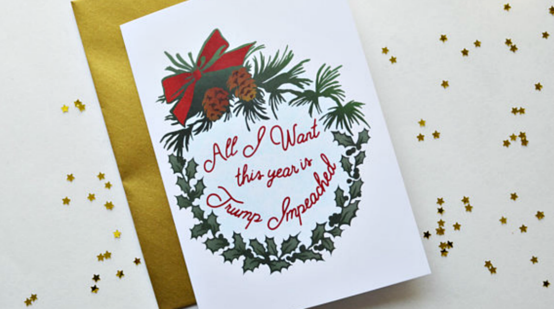 In Troubling Times, Holiday Cards Send A Message Of Resistance