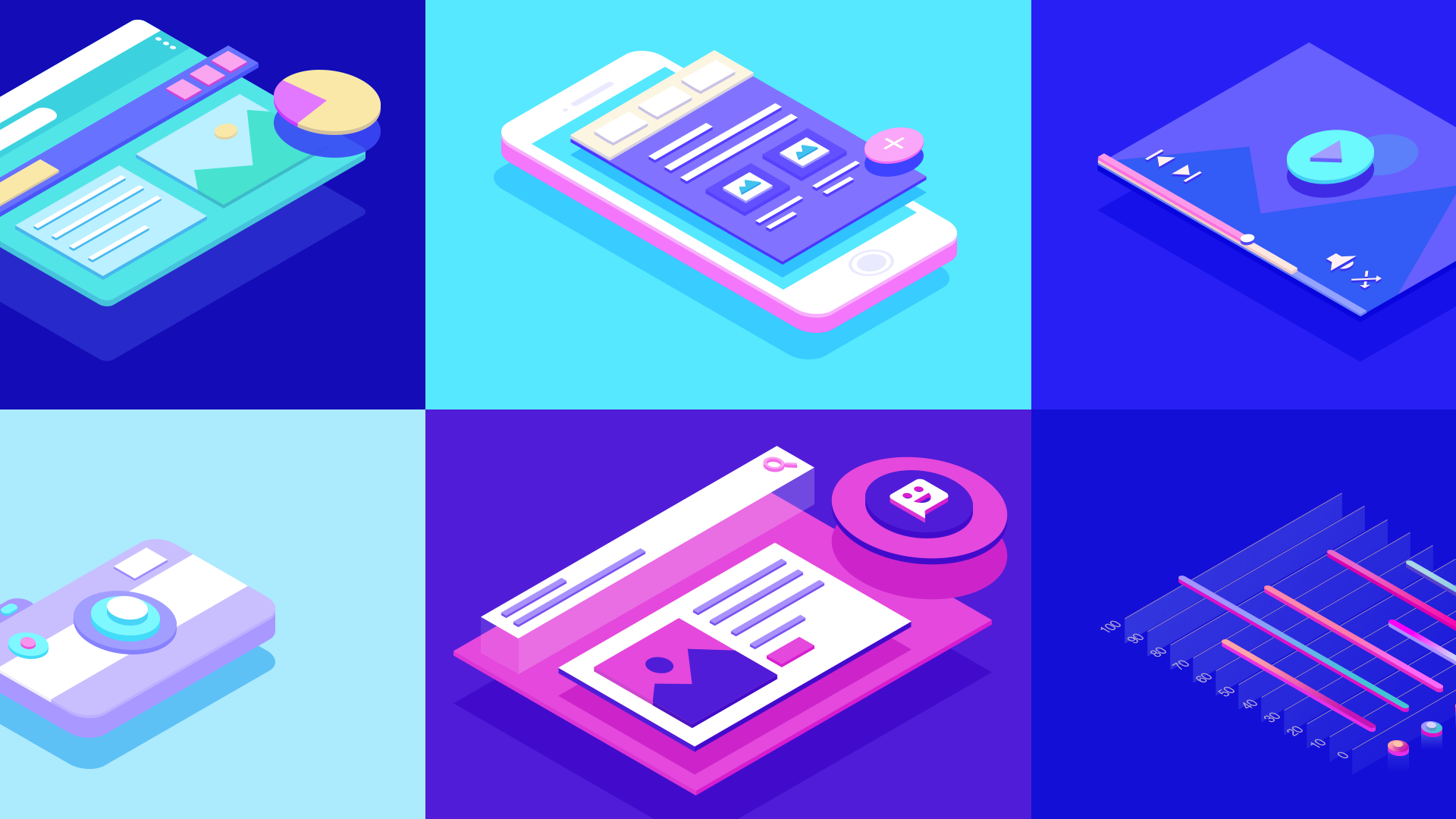Creating Isometric Illustrations—Made Simple with the Geometric Technique