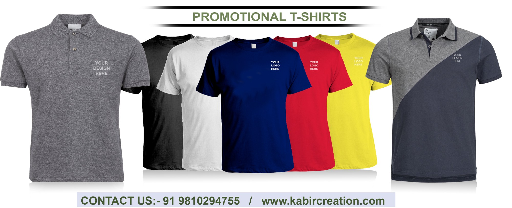 Promotional Products Get Quality T Shirt Printing Services For