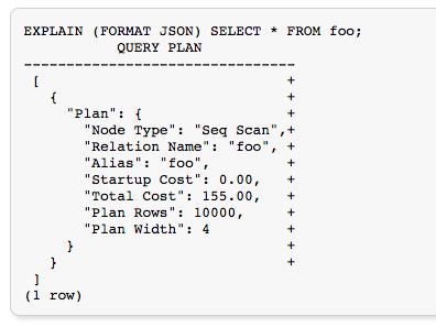 Example query from [https://www.postgresql.org/docs/9.1/static/sql-explain.html](https://www.postgresql.org/docs/9.1/static/sql-explain.html)