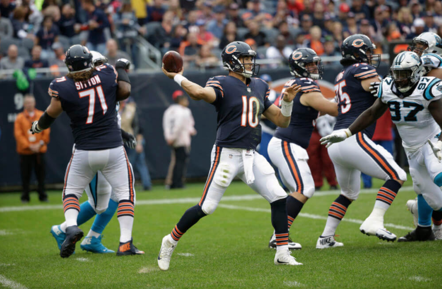 The Chicago Bears beating the Carolina Panthers might be a surprising  enough result already. Add in that Chicago only attempted seven passes in  the win and ... 5f0664f9a