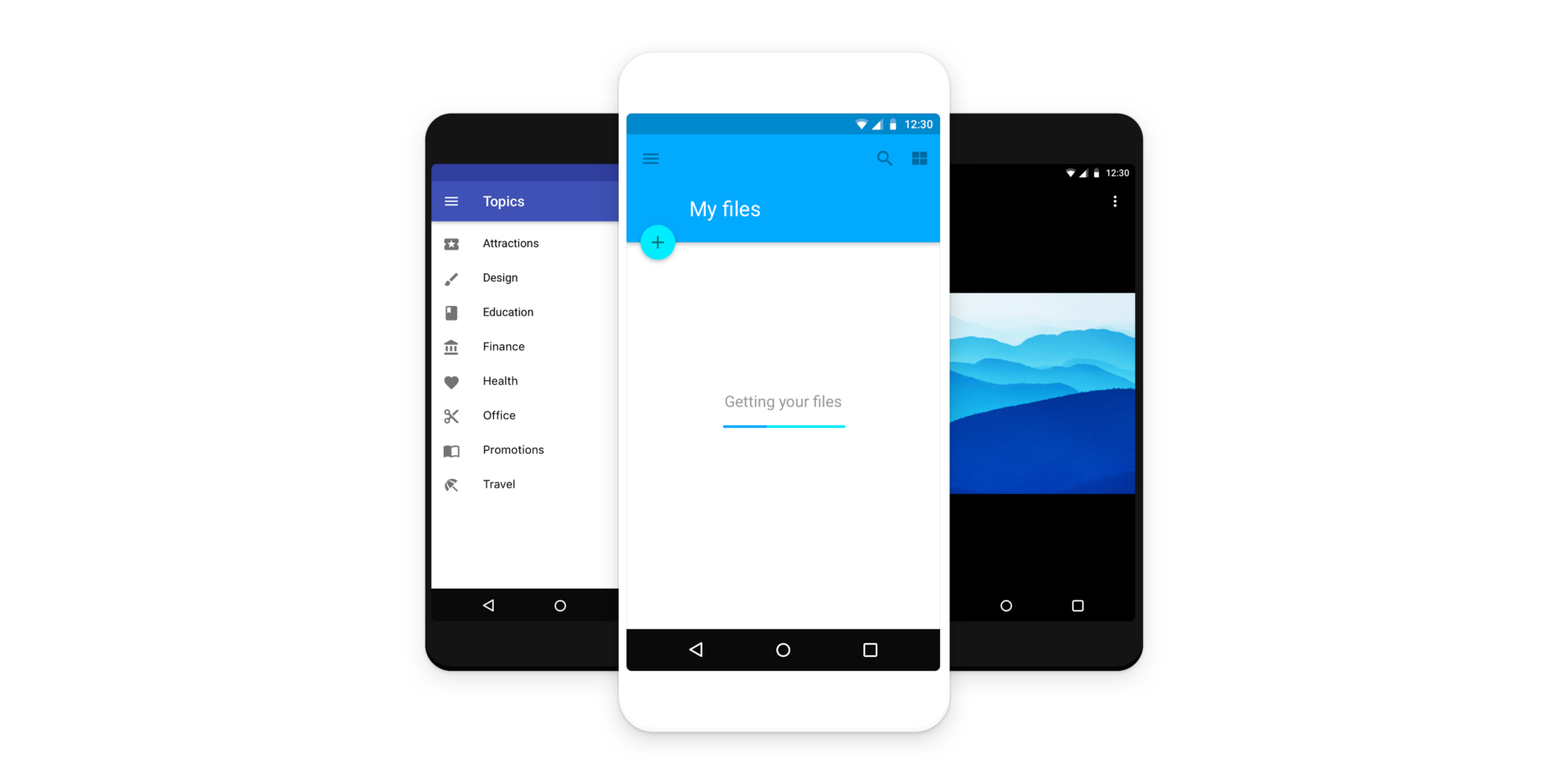 learn more about android app design in framer