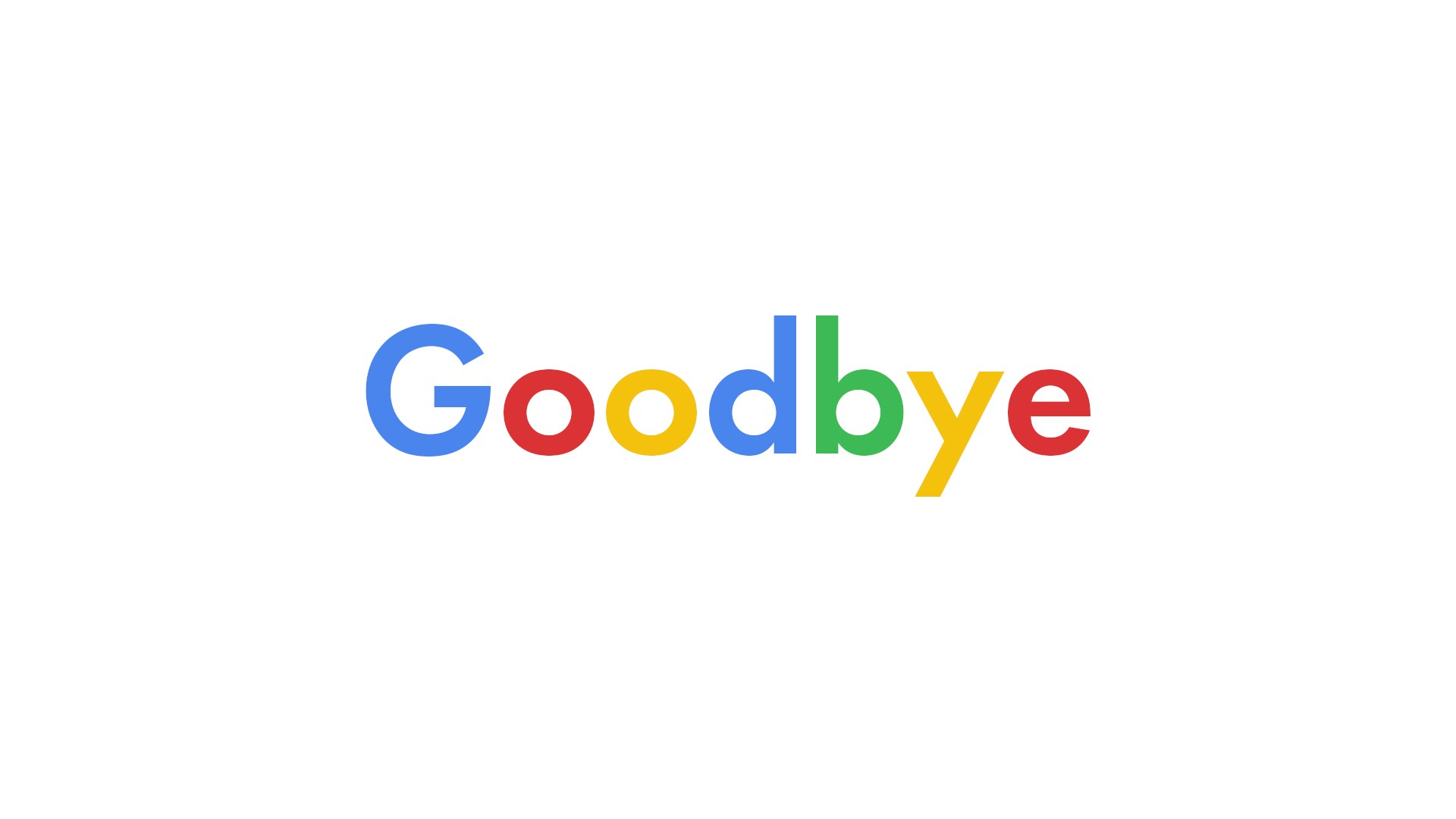 My Last Google Search Ever…