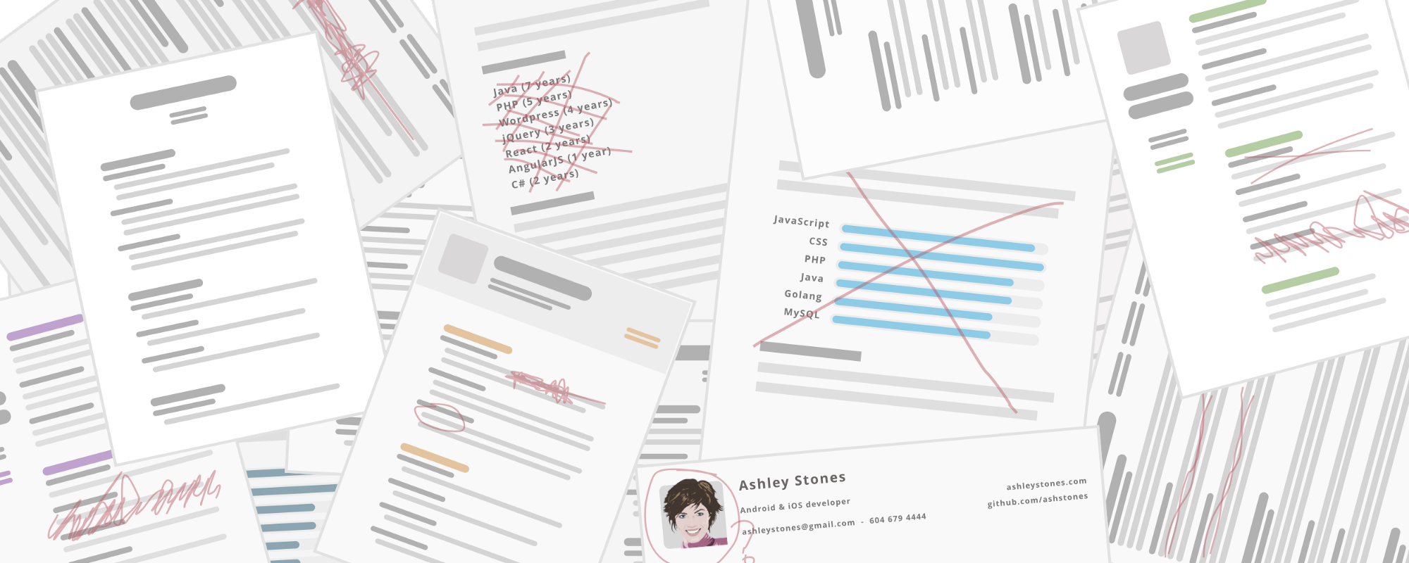 an opinionated guide to writing developer resumes in