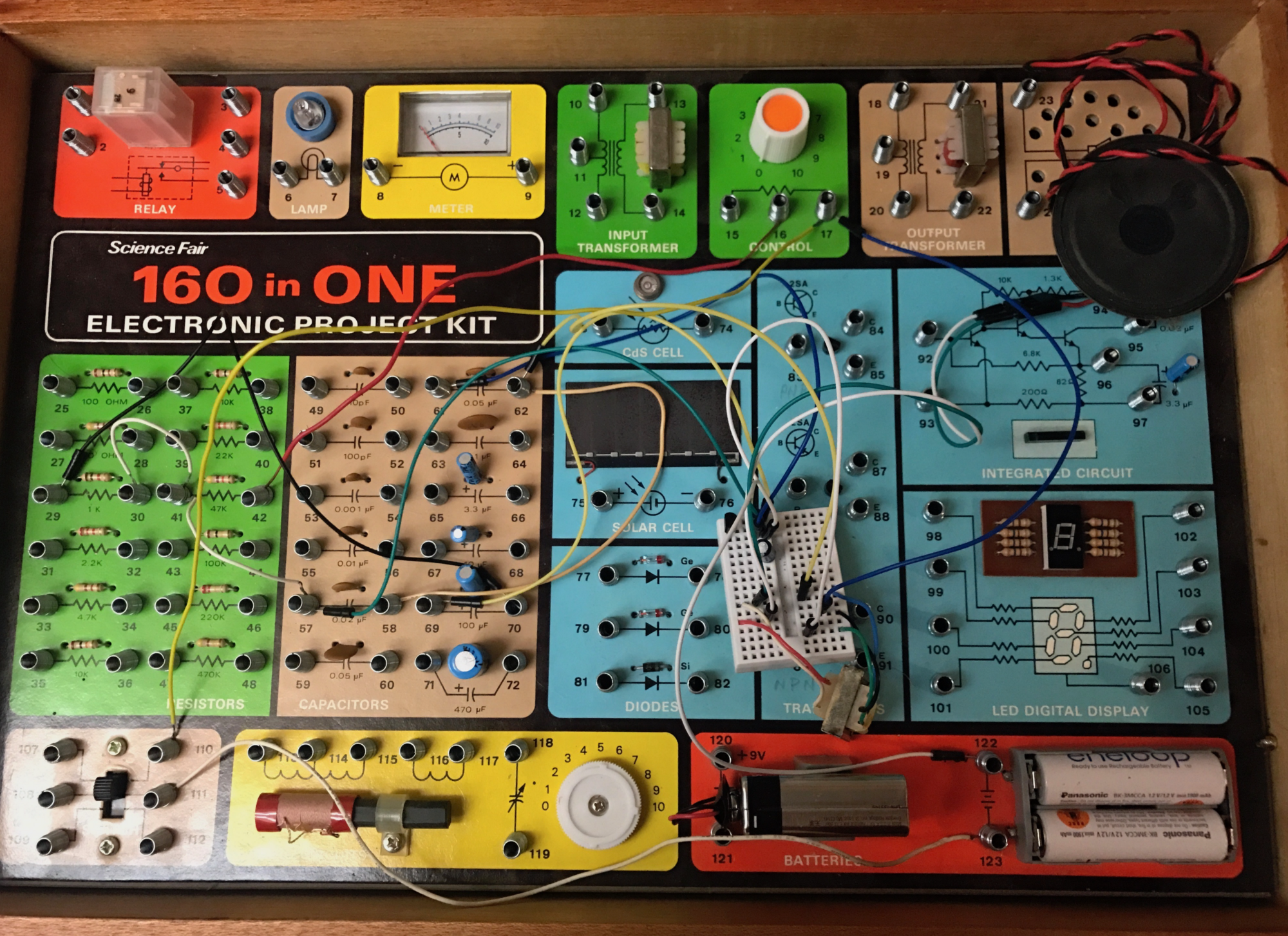 Electronic project kits: hands on with a vintage 160-in-1
