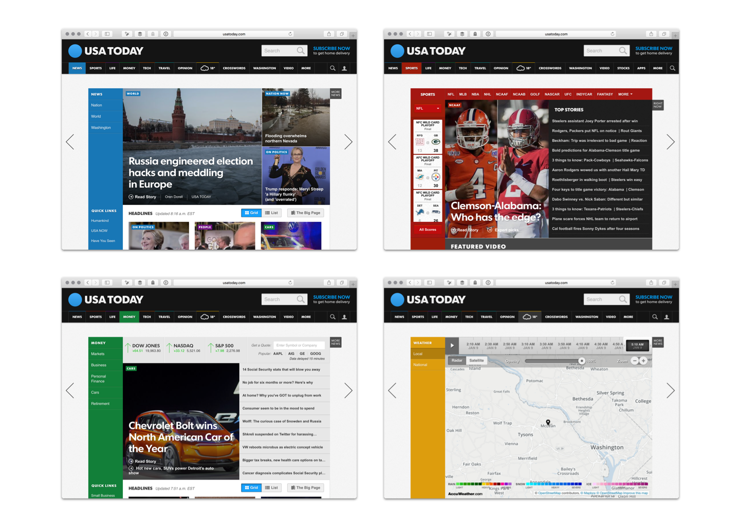 usa today case study With social media algorithms constantly changing, it's time for news publishers to regain control of their audiences using ai and machine learning, publishers can program contextually relevant and personalized content down to the viewer level on their owned-and-operated sites for both breaking news and day-to-day operations.