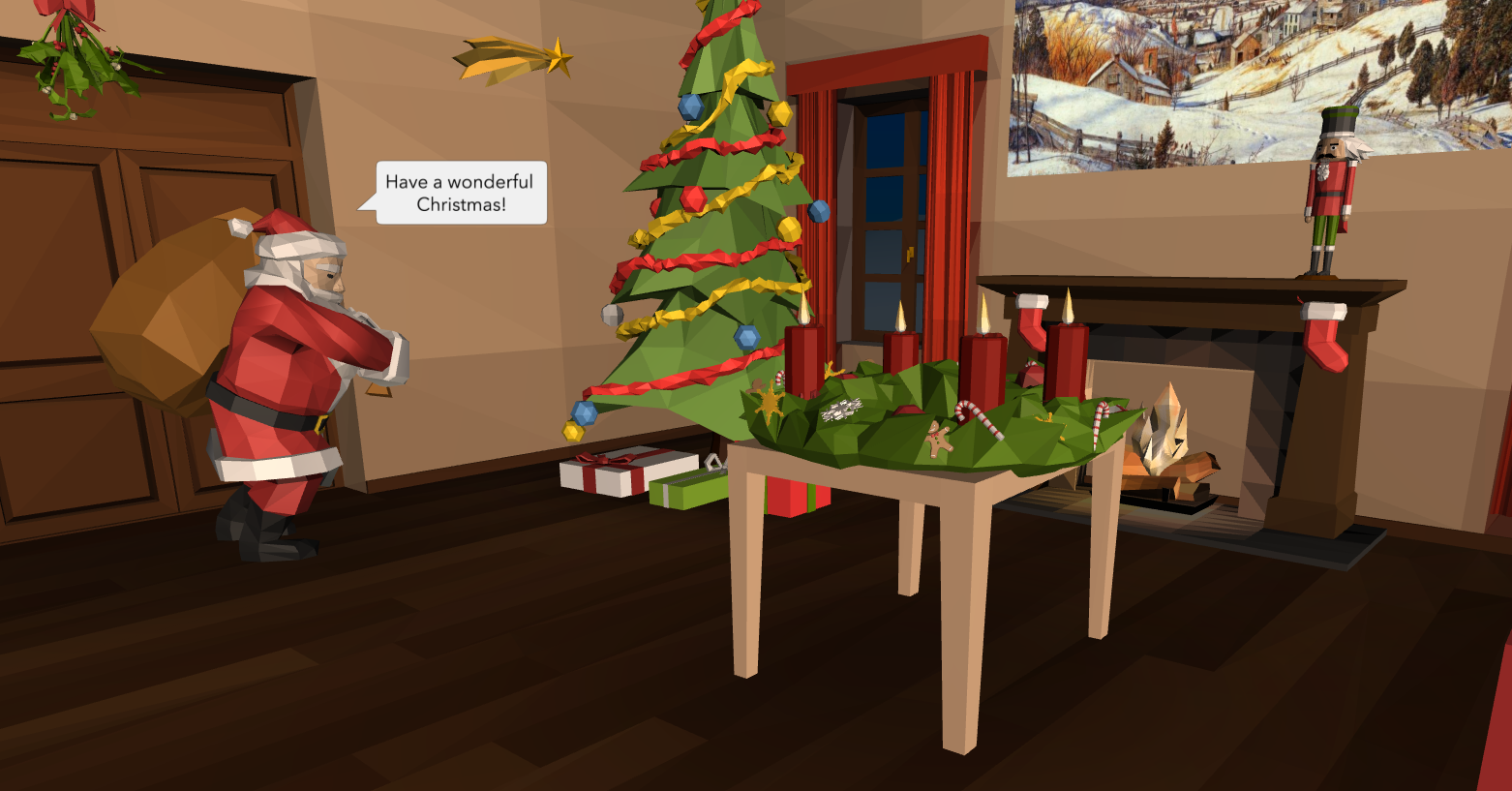 How to build a VR Christmas card – AR & VR in the classroom