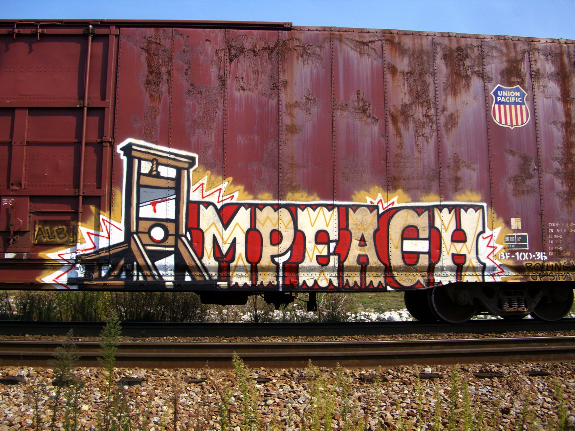 I stylize my work to be recognized as mine he says with trains it is the rabble that i most consider i want something that doesnt conjure up graff